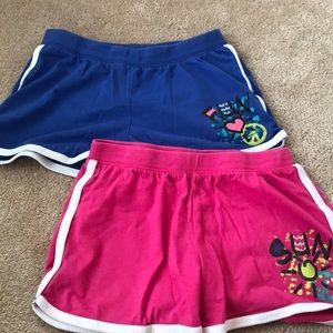 2 Pairs Of Justice Fun In The Sun Shorts